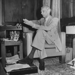 Jinnah at Nedous